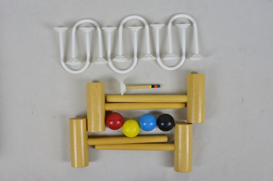 Townsend Carpet Croquet Mini Indoor Game Set Made in England 2