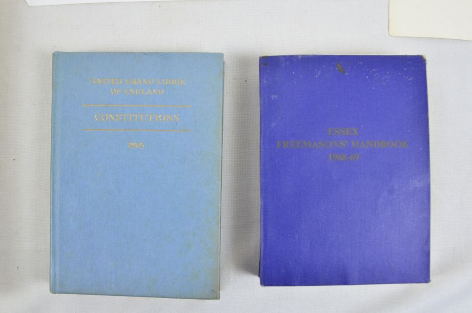Freemason Books & Certificate Collectables / Collection / Job Lot 2