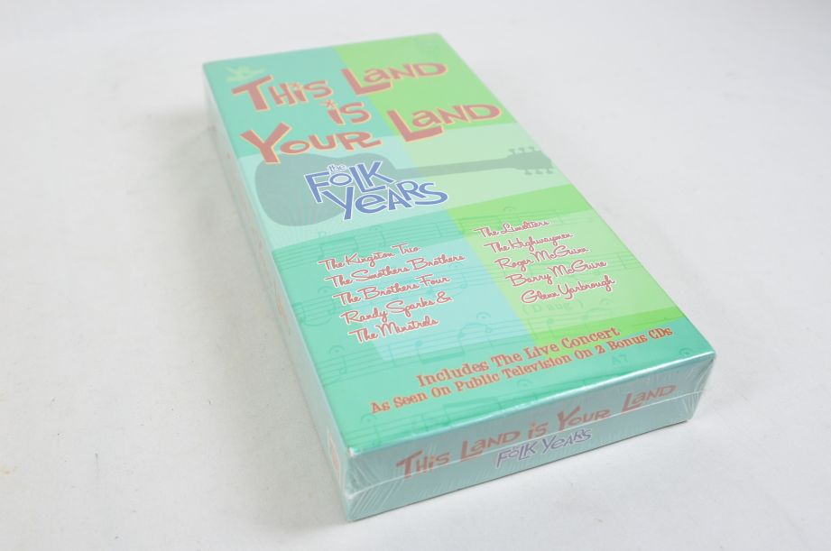 This Land is Your Land the Folk Years 8 CD Box Set 2002