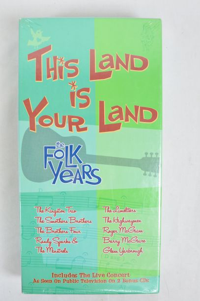 This Land is Your Land the Folk Years 8 CD Box Set 2002 2
