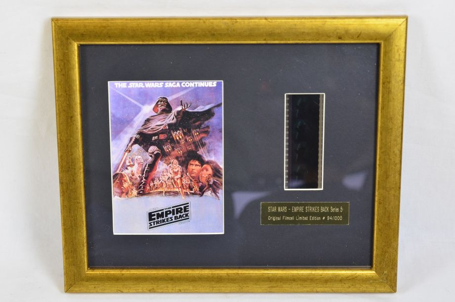 Star Wars The Empire Strikes Back Limited Edition Framed Filmcell - Yoda 1