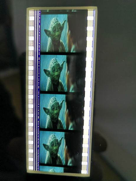 Star Wars The Empire Strikes Back Limited Edition Framed Filmcell - Yoda 5