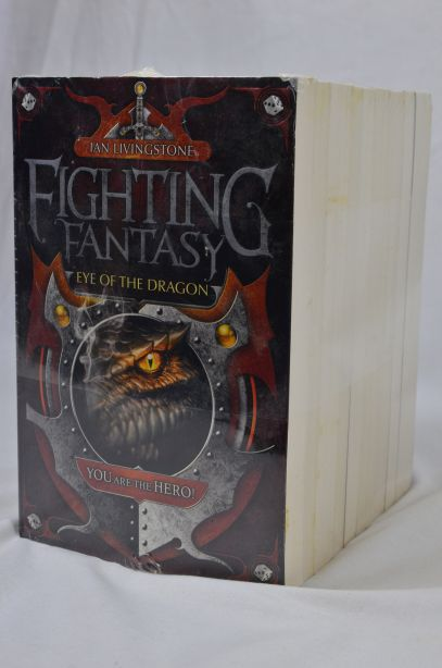 Fighting Fantasy 10 Book Collection by Steve Jackson & Ian Livingstone (2010) 4