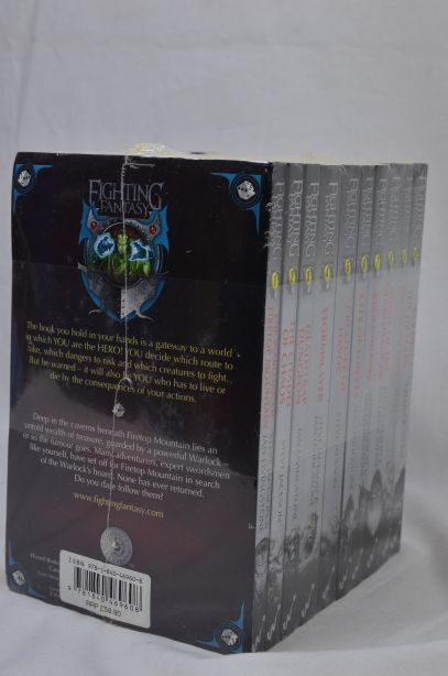 Fighting Fantasy 10 Book Collection by Steve Jackson & Ian Livingstone (2010) 5