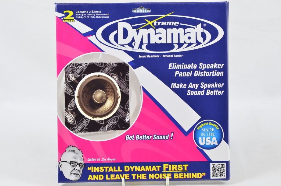 Dynamat Xtreme Speaker Kit For 2 Speakers (2 Sound Dampening Sheets) #10415 1