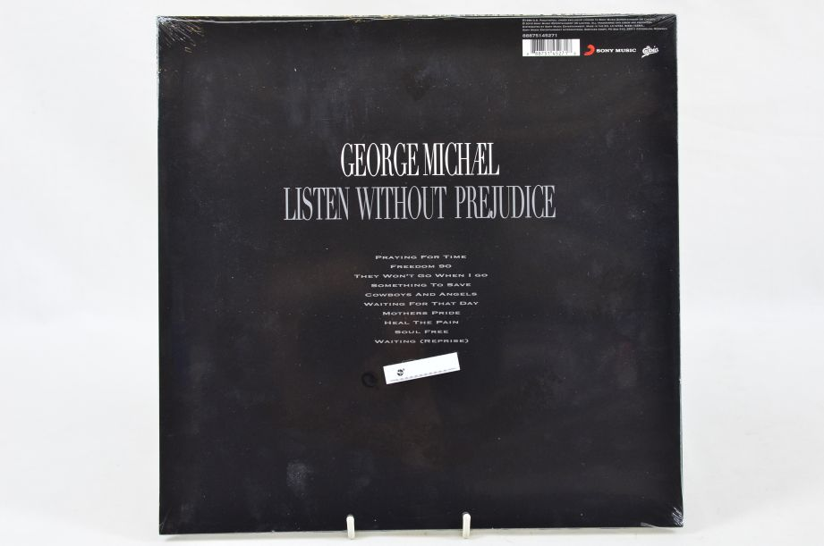 George Michael Listen Without Prejudice Vinyl Album 2017 2