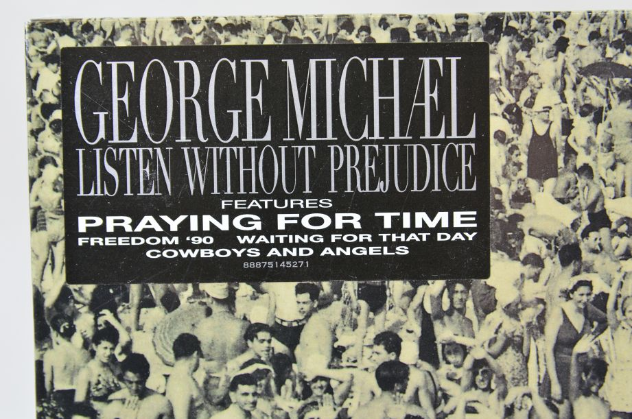George Michael Listen Without Prejudice Vinyl Album 2017 3