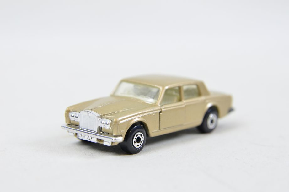 Matchbox Superfast #39 Rolls Royce Silver Shadow - Gold Body, White Interior 2