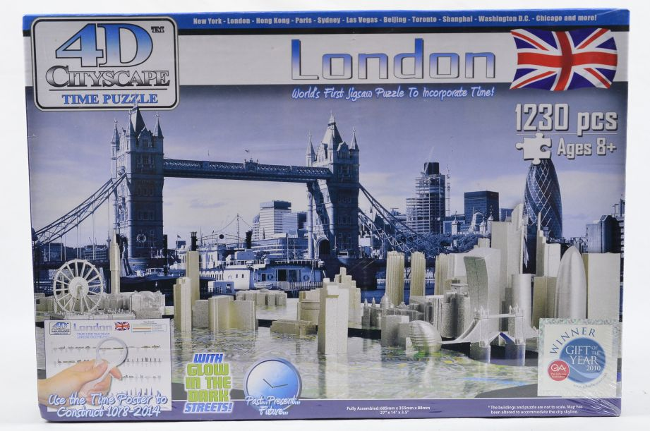 4D Cityscape London Puzzle 1230 Pieces Jigsaw Puzzle 1