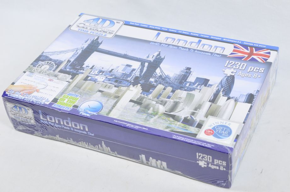 4D Cityscape London Puzzle 1230 Pieces Jigsaw Puzzle 3