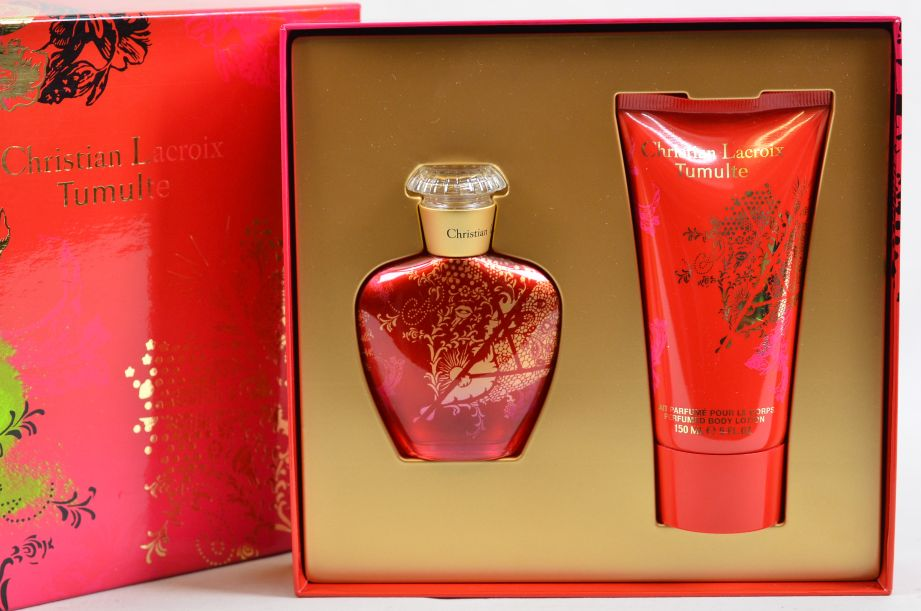 Christian Lacroix Tumulte Gift Set 50ml Eau de Parfum EDP & 150ml Body Lotion