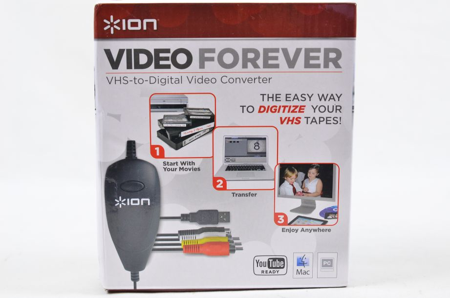 Ion Video Forever VHS to Digital USB Video Converter 6