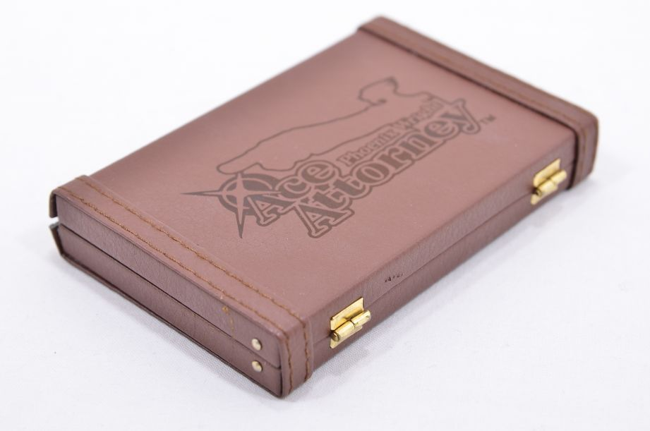 Phoenix Wright Ace Attorney Mini Briefcase Business Card Holder - Loot Crate 4