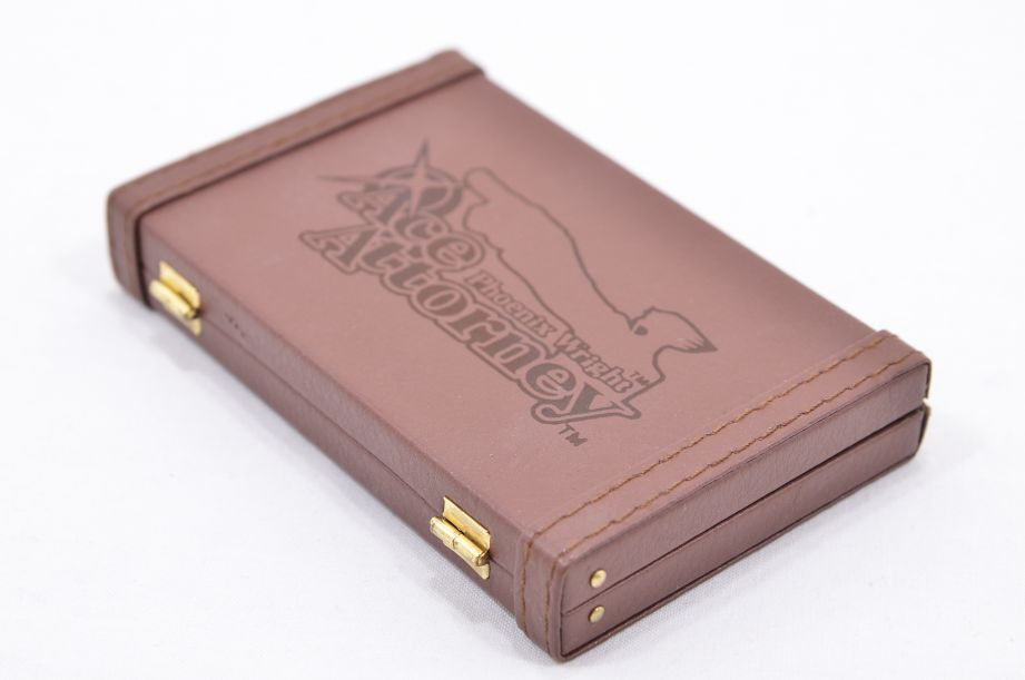 Phoenix Wright Ace Attorney Mini Briefcase Business Card Holder - Loot Crate 5