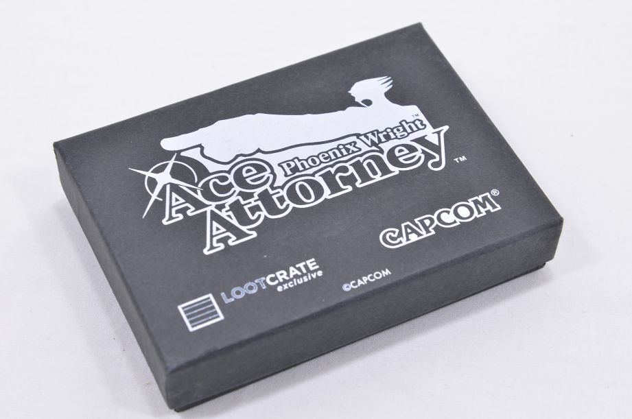 Phoenix Wright Ace Attorney Mini Briefcase Business Card Holder - Loot Crate 8