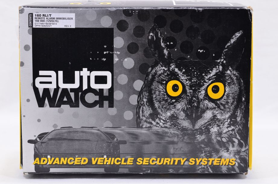 AutoWatch Advanced Security System Cat 1 Thatcham Car Alarm Kit 160 RLi/T 1