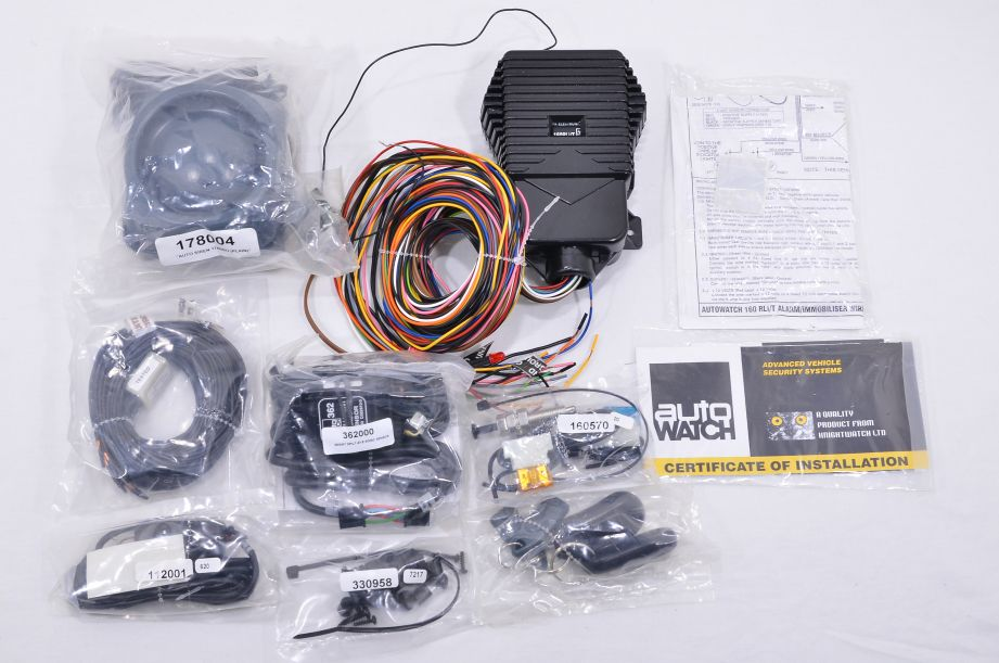 AutoWatch Advanced Security System Cat 1 Thatcham Car Alarm Kit 160 RLi/T 3