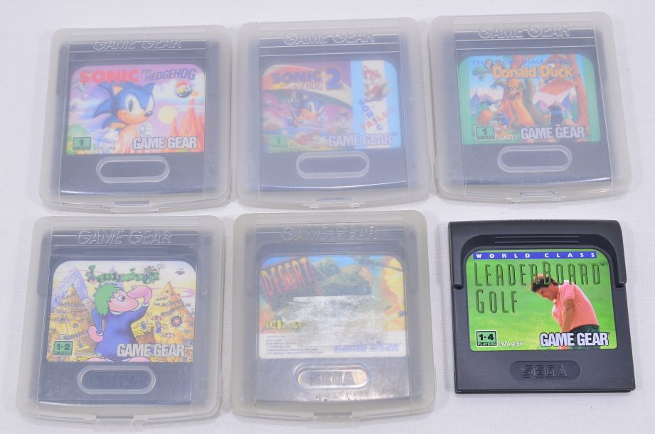 Sega Game Gear Console with Games - Faulty 13