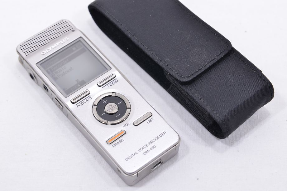 Olympus DM-450 Digital Voice Recorder 2GB - Silver