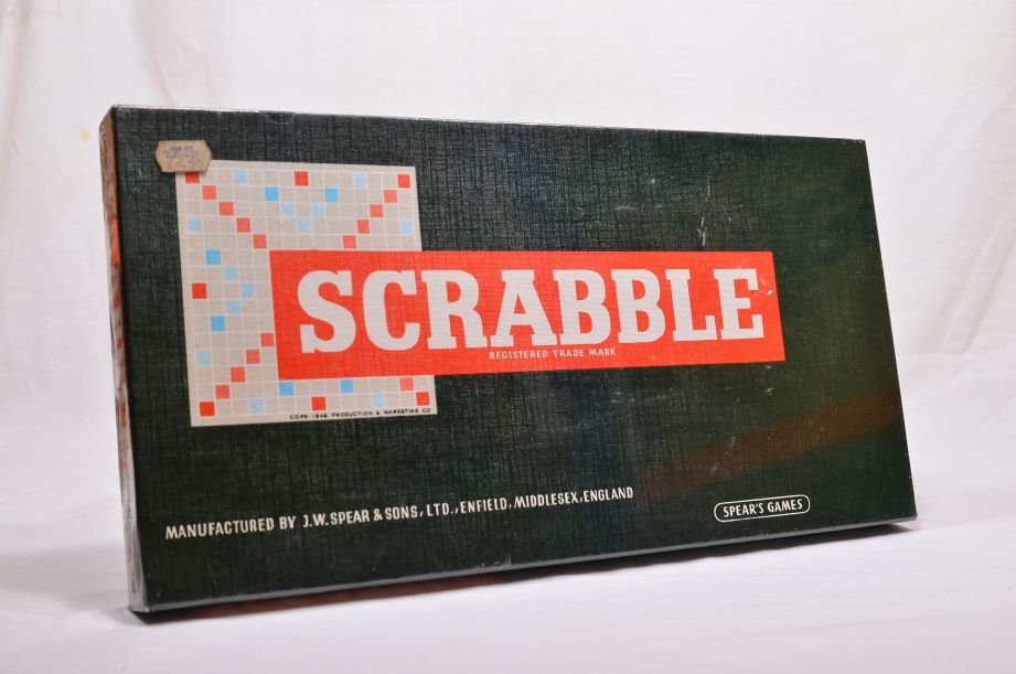 Vintage Scrabble 1970s or 1980s by Spear's Games - New & Sealed