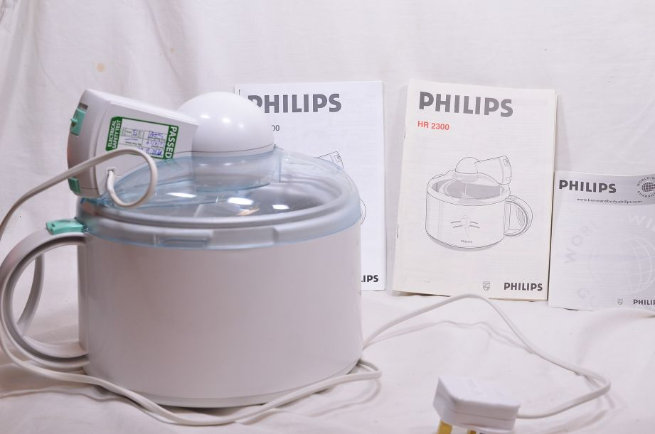 Philips Delizia HR 2300 Ice Cream Maker