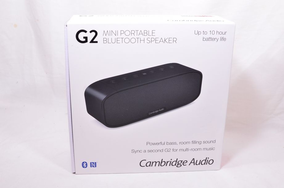 Cambridge Audio G2 Mini Portable Bluetooth Speaker - Black 1