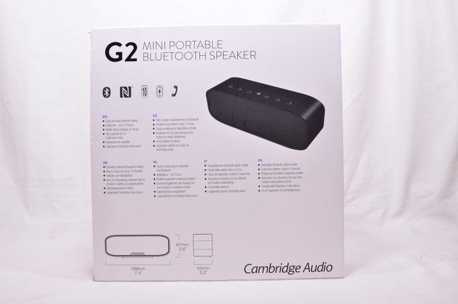 Cambridge Audio G2 Mini Portable Bluetooth Speaker - Black 4