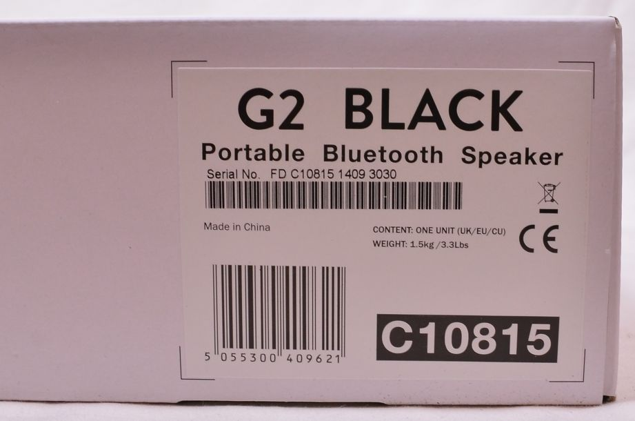 Cambridge Audio G2 Mini Portable Bluetooth Speaker - Black 5