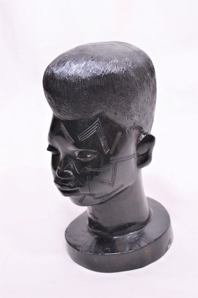 African Carved Head