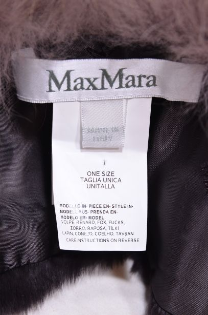 Max Mara Italian Fox Fur Collar 7