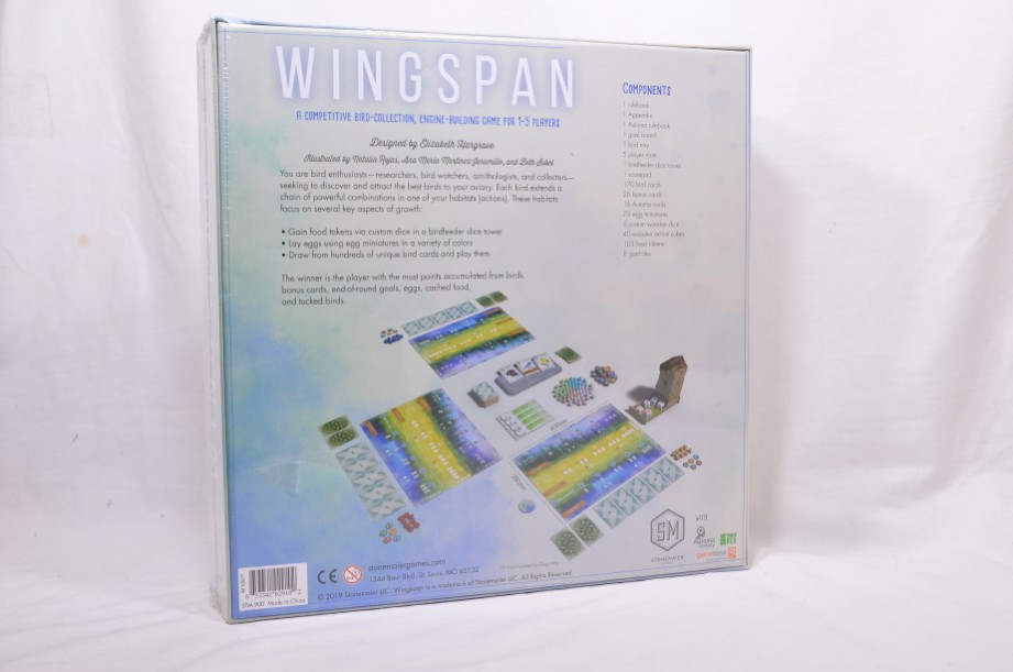Wingspan Bird Game 1st Edition - Stonemaier Games - STM900 - Factory Sealed 4