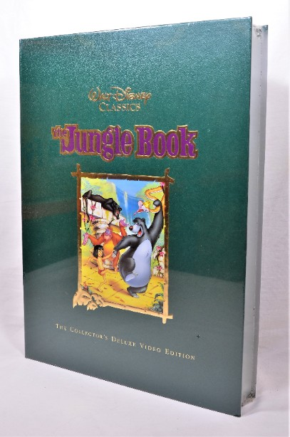 Walt Disney Classics - The Jungle Book - Collectors Deluxe Video Edition