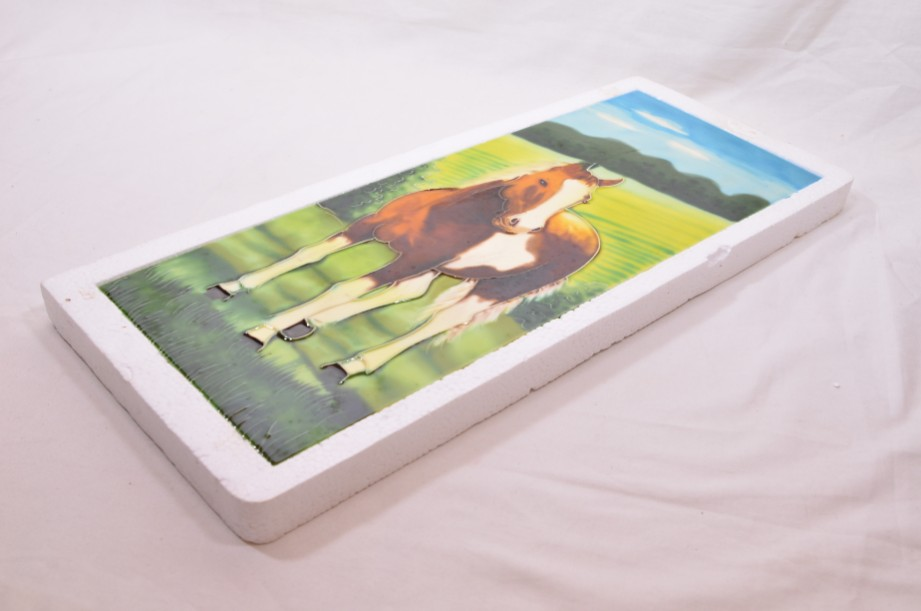 YH Ceramics - Hand crafted wall art - Equestrian Beauty - Horse Tile Picture 5