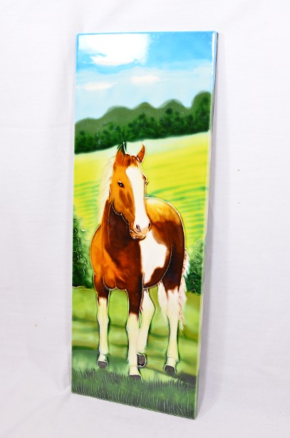 YH Ceramics - Hand crafted wall art - Equestrian Beauty - Horse Tile Picture 7