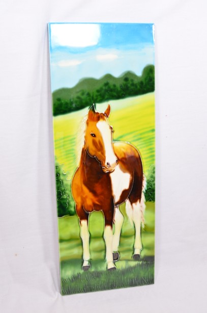 YH Ceramics - Hand crafted wall art - Equestrian Beauty - Horse Tile Picture 8