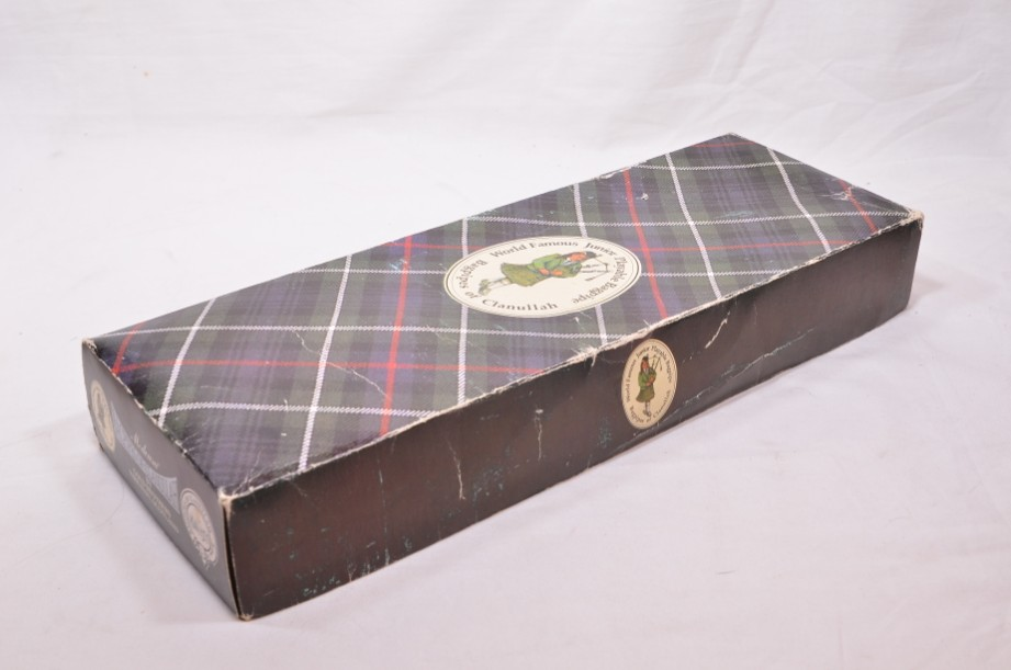 Clanullah Junior bagpipes by Gold Brothers of Kirkaldy 3