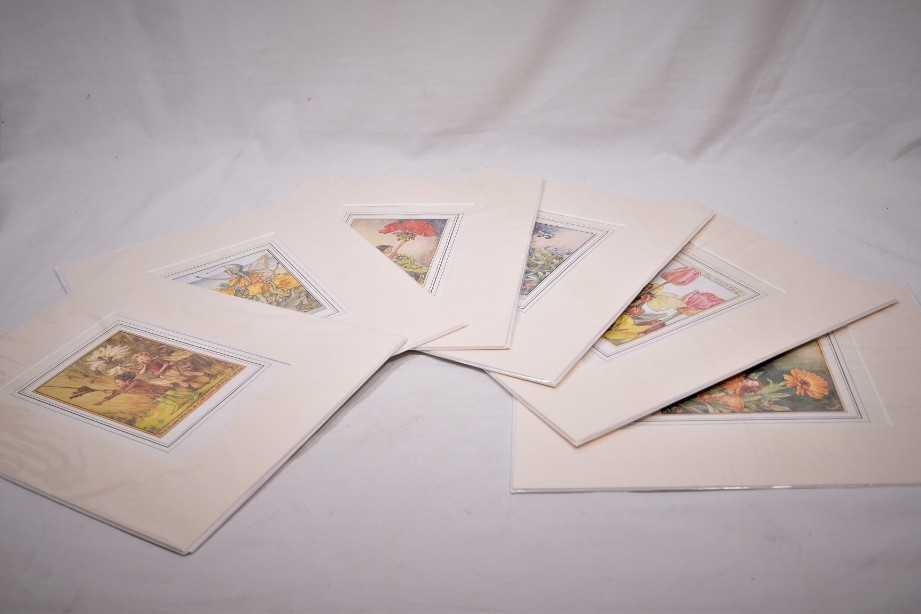Set of Six Flower Fairy Prints by Cicely Mary Barker