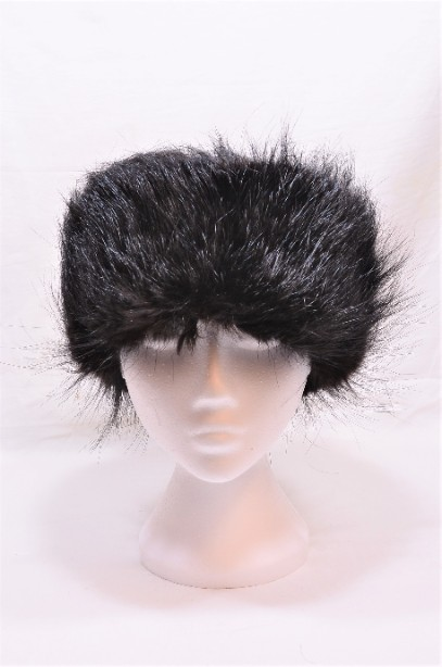Russian Real Black Fur Shapka/Ushanka Hat