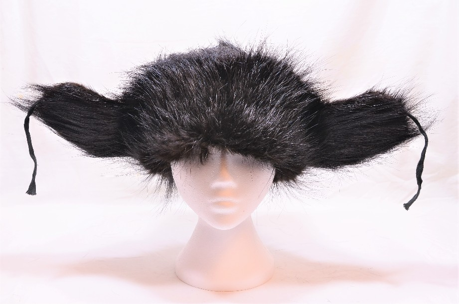 Russian Real Black Fur Shapka/Ushanka Hat 3