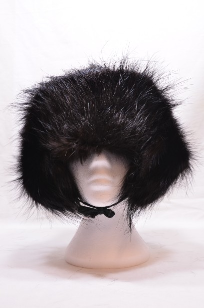 Russian Real Black Fur Shapka/Ushanka Hat 4