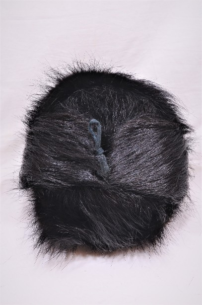 Russian Real Black Fur Shapka/Ushanka Hat 7