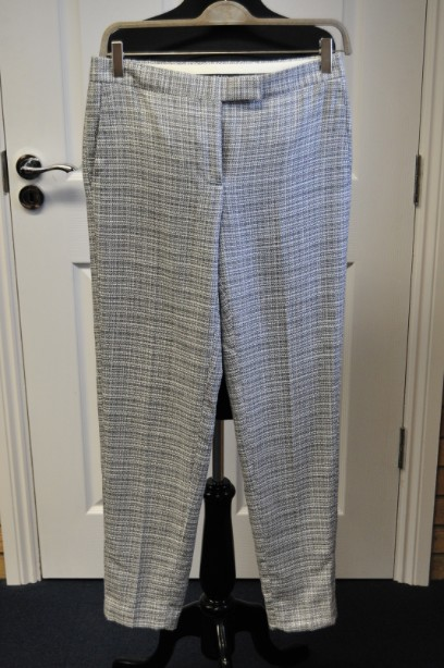 Paul Smith Black, Checked Slim Fit Trousers size 40/M