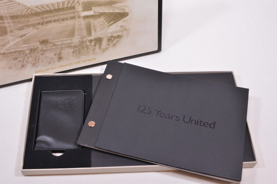 Newcastle United Members 125 Years Gift Set with Wallet & Book
