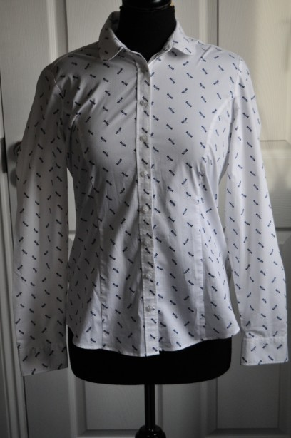 Kew 159 Shirt/Blouse with Blue Dragonflies size M/12