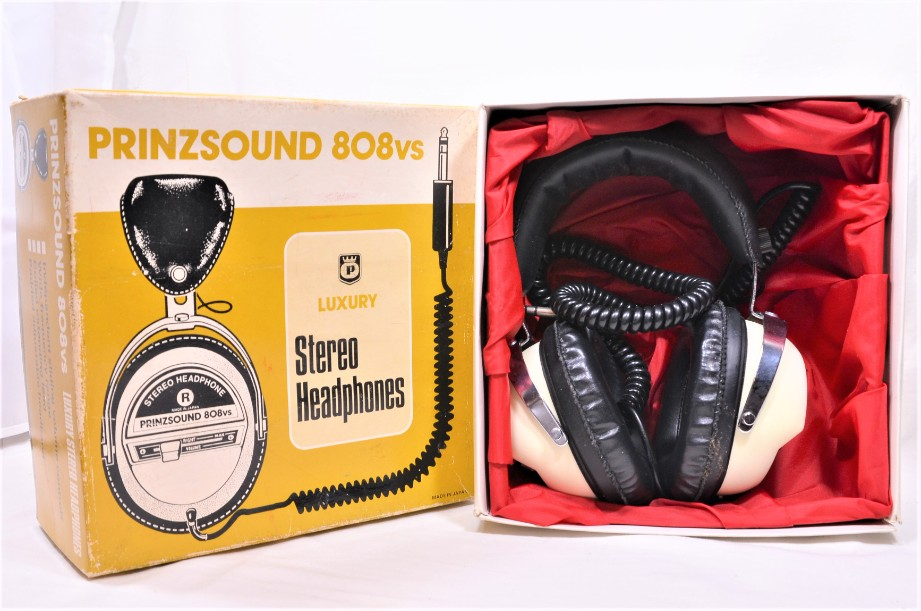 Prinzsound 808vs Luxury stereo headphones