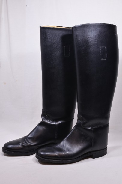 Ladies Black Hawkins Leather Riding Boots size 6