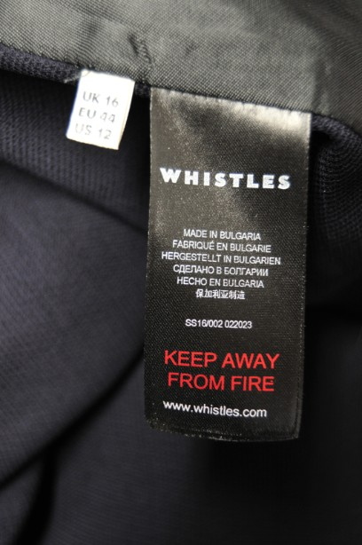 Ladies Whistle Jacket Navy Blue Good condition 8