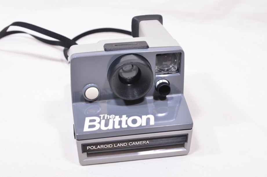 Polaroid The Button Land Camera Instant SX-70 Film Camera with Everflash 90 2