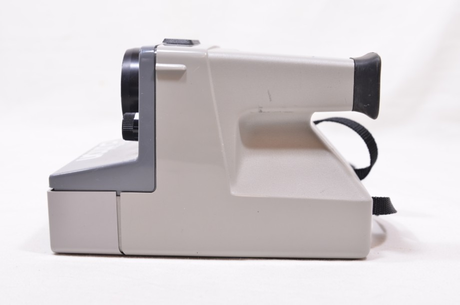 Polaroid The Button Land Camera Instant SX-70 Film Camera with Everflash 90 3