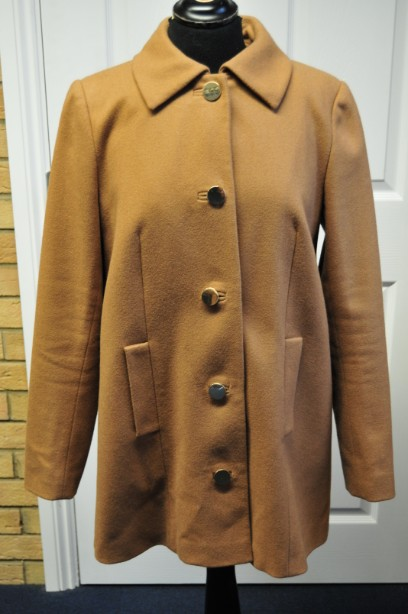 Hobbs Ladies Winter  Wool Coat  size 12